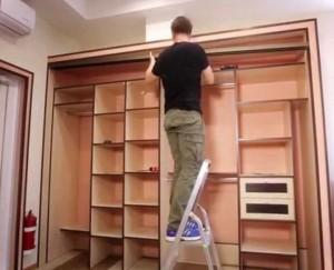 сборка шкафа
